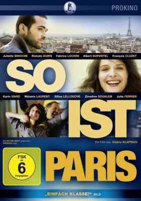 So ist Paris, Juliette Binoche, Romain Duris