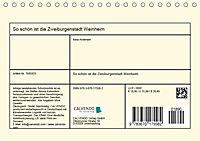So schön ist die Zweiburgenstadt Weinheim (Tischkalender 2019 DIN A5 quer) - Produktdetailbild 13