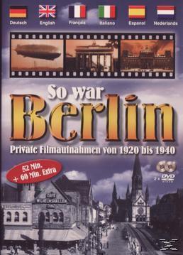 So war Berlin - Private Filmaufnahmen von 1920 - 1940, 1