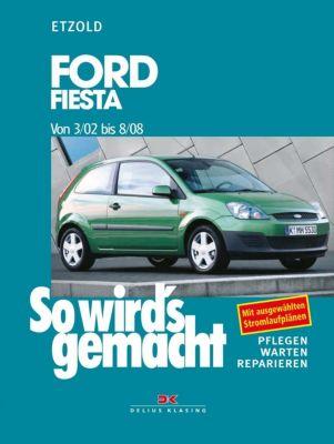 Auto & Motorrad: Teile Automobilia Ford Fiesta 2002 2003 Anleitung Pflege-