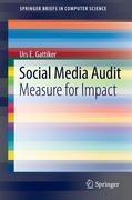 Social Media Audit, Urs E. Gattiker