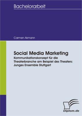 Social Media Marketing. Kommunikationskonzept für die Theaterbranche am Beispiel des Theaters: Junges Ensemble Stuttgart, Carmen Akmann