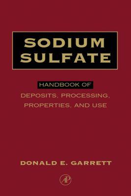 Sodium Sulfate, Donald E. Garrett