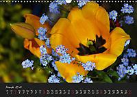 Soft Rock Visual Music of Flowers (Wall Calendar 2019 DIN A3 Landscape) - Produktdetailbild 3