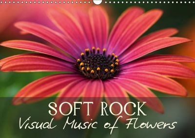 Soft Rock Visual Music of Flowers (Wall Calendar 2019 DIN A3 Landscape), Vronja Photon