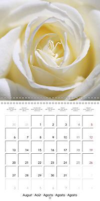 Soft White Flowers (Wall Calendar 2018 300 × 300 mm Square) - Produktdetailbild 8