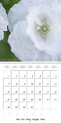 Soft White Flowers (Wall Calendar 2018 300 × 300 mm Square) - Produktdetailbild 5