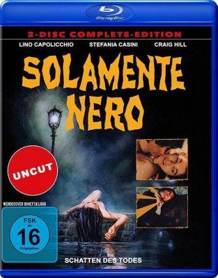 Solamente Nero - Blutige Schatten, 1 Blu-ray + 1 DVD (Uncut)