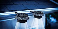 Solar-Dachrinnenleuchten Polyrattan, 2er Set - Produktdetailbild 1