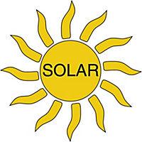 Solar-Dachrinnenleuchten Polyrattan, 2er Set - Produktdetailbild 3