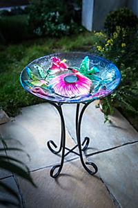 """Solar-Dekoschale """"Blütenzauber"""" - Produktdetailbild 1"""
