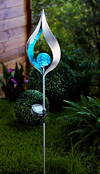 """Solar-Gartenstecker """"Blue Light"""" - Produktdetailbild 1"""