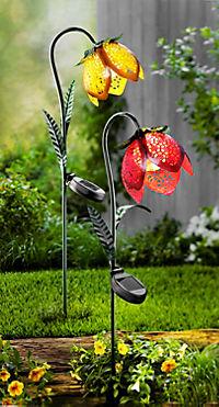 """Solar-Gartenstecker """"Blume"""", 2er-Set - Produktdetailbild 1"""
