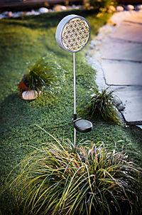 """Solar-Gartenstecker """"Blume des Lebens"""" - Produktdetailbild 2"""