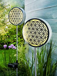 """Solar-Gartenstecker """"Blume des Lebens"""" - Produktdetailbild 3"""