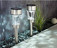 "Solar-Gartenstecker ""Dancing Light"", 2er-Set - Produktdetailbild 2"