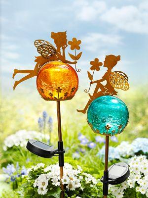 Solar-Gartenstecker Fairytale, 2er-Set