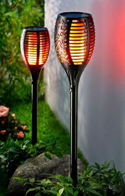 Solar-Gartenstecker Lumia, 2er-Set