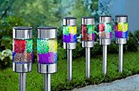 """Solar-Gartenstecker """"Mosaik"""" 2er-Set - Produktdetailbild 1"""