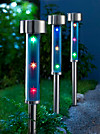 "Solar-Gartenstecker ""Stars"", 3er Set"