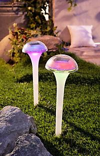 """Solar-Gartenstecker """"Ufo"""", 2er-Set - Produktdetailbild 2"""