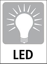 Solar-Gartenthermometer mit LED - Produktdetailbild 3