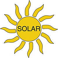 Solar-Gartenthermometer mit LED - Produktdetailbild 4