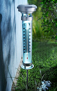 Solar-Gartenthermometer mit LED - Produktdetailbild 2