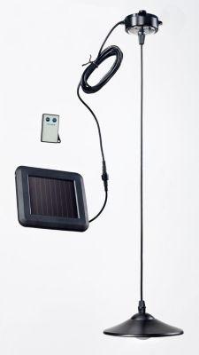 Solar-Hängelampe mit Fernbedienung