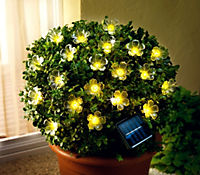 "Solar-Lichterkette ""Blume"" - Produktdetailbild 2"