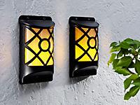 """Solar-Wandleuchten """"Flame"""", 2er-Set - Produktdetailbild 2"""
