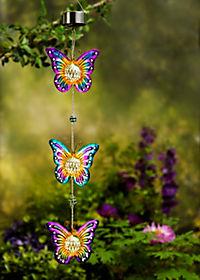 """Solardeko """"Schmetterlings-Trio"""" - Produktdetailbild 1"""