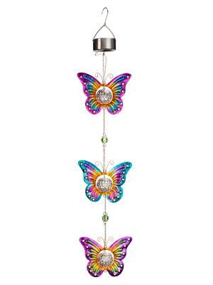 Solardeko Schmetterlings-Trio