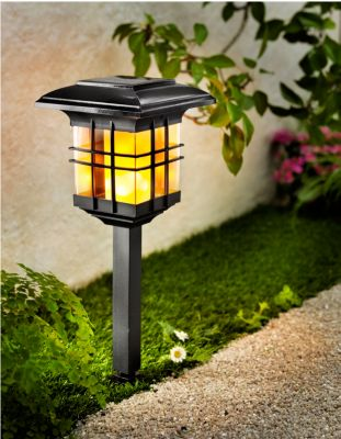 Solarleuchte Flame, 3 in 1