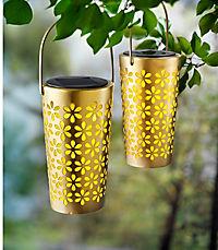 "Solarleuchten ""Glamour"", gold, 2er-Set - Produktdetailbild 4"