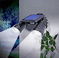 """Solarstrahler """"Twin"""" mit Bewegungsmelder - Produktdetailbild 1"""