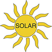 """Solarstrahler """"Twin"""" mit Bewegungsmelder - Produktdetailbild 3"""