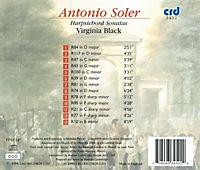 Soler:Harpsichord Works - Produktdetailbild 1