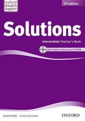 Solutions: Intermediate: Teacher's Book and CD-ROM Pack