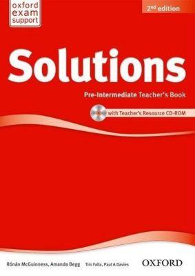 Solutions: Pre-intermediate: Teacher's Book and CD-ROM Pack
