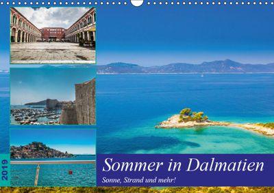 Sommer in Dalmatien - Sonne, Strand und mehr! (Wandkalender 2019 DIN A3 quer), Jörg Sobottka