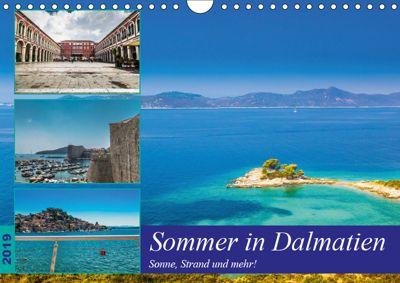 Sommer in Dalmatien - Sonne, Strand und mehr! (Wandkalender 2019 DIN A4 quer), Jörg Sobottka