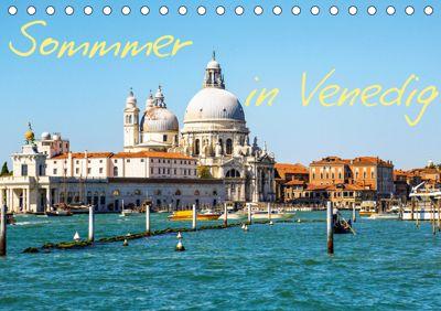 Sommer in Venedig (Tischkalender 2019 DIN A5 quer), Rafal Reklewski