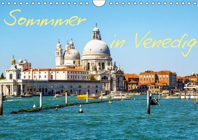 Sommer in Venedig (Wandkalender 2019 DIN A4 quer), Rafal Reklewski