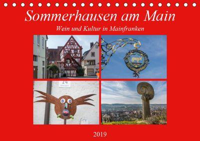 Sommerhausen am Main (Tischkalender 2019 DIN A5 quer), Hans Will