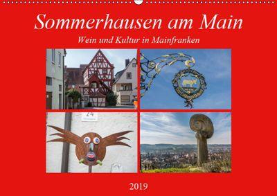 Sommerhausen am Main (Wandkalender 2019 DIN A2 quer), Hans Will