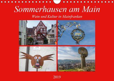 Sommerhausen am Main (Wandkalender 2019 DIN A4 quer), Hans Will