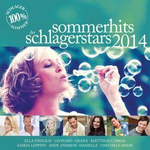 Sommerhits Der Schlagerstars 2014, Diverse Interpreten