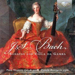 Sonatas For Viola Da Gamba And Organ, Johann Sebastian Bach