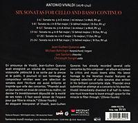 Sonatas For Violoncello & Basso - Produktdetailbild 1